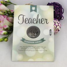 Teacher Lucky Coin Card