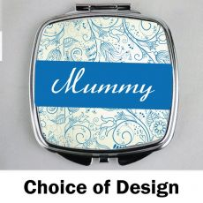 Mum Compact Mirror - Personalised