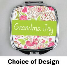 Grandma Compact Mirror - Personalised