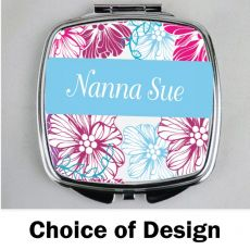 Nanna Compact Mirror - Personalised
