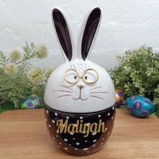 Personalised Easter Trinket Box - Ray Rabbit