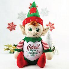 Personalised 1st Christmas Elf