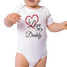 Personalised I Love My Daddy Bodysuit
