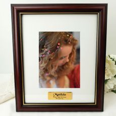 Classic Wood Photo Frame 5x7 Personalised Message