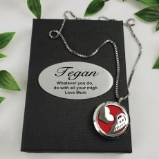 Personalised Aromatherapy Boxed Diffuser Necklace - wings