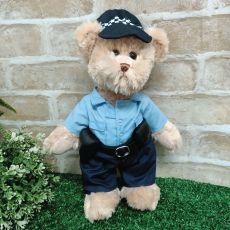 Constable Carruthers Policeman Bear Plush 30cm