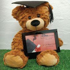 Graduation Bear with Photo Frame 30cm