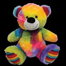 Rainbow Teddy Bear 40cm Plush