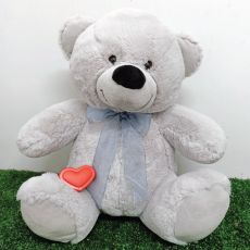 Voice Recordable Teddy Bear Grey 40cm