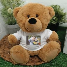 Personalised Photo T-Shirt Teddy Bear