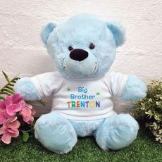 Big Brother Teddy Bear Light Blue 30cm