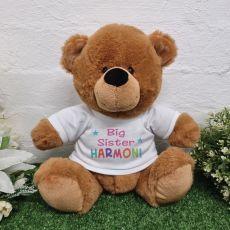 Big Sister Personalised Teddy Brown Bear