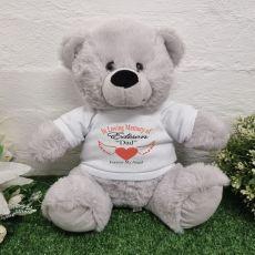 Memorial Remembrance Bear Grey 30cm