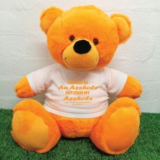 Valentines Bear You may Be A - 40cm Orange