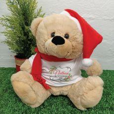 1st Christmas Bear - Holly Berry