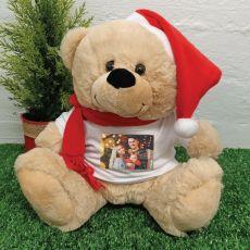 Christmas Photo Teddy Bear