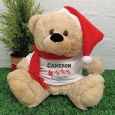 Personalised Christmas Bear 2020- Sleigh