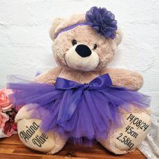 Baby Ballerina Teddy Bear 40cm Plush Cream
