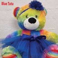 Birthday Ballerina Teddy Bear 40cm Plush Rainbow