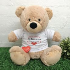 Voice Recordable In Loving Memory Bear - Cream 40cm