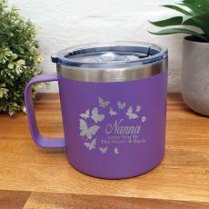 Nana Purple Travel Tumbler Coffee Mug 14oz