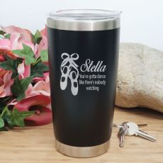 Dance Coach Insulated Travel Mug 600ml Black