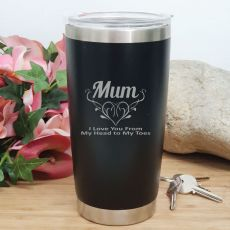 Mum Insulated Travel Mug 600ml Black