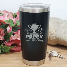 Pop Insulated Travel Mug 600ml Black