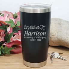 Graduation Insulated Travel Mug 600ml Black