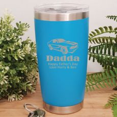 Dad Insulated Travel Mug 600ml Light Blue