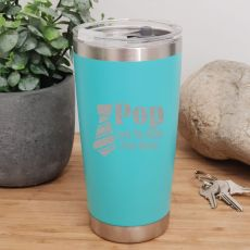 Pop Insulated Travel Mug 600ml Teal