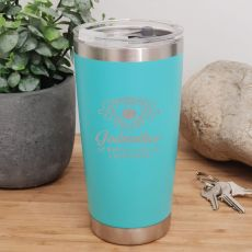 Godmother Insulated Travel Mug 600ml Teal