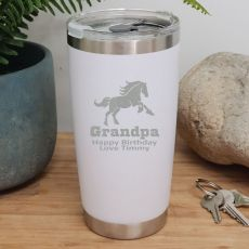 Grandpa Insulated Travel Mug 600ml White
