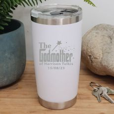 Godmother  Insulated Travel Mug 600ml White