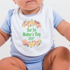 Happy Mothers Day Bib - Floral