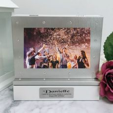 40th Photo Keepsake Diamente Trinket Box