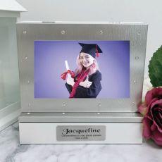 Graduation Photo Keepsake Diamente Trinket Box