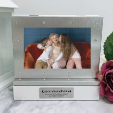 Grandma Photo Keepsake Diamente Trinket Box