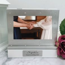 Mother of the bride Photo Keepsake Diamente Trinket Box
