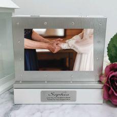 Mother of the bride Photo Keepsake Diamente Trinket Box