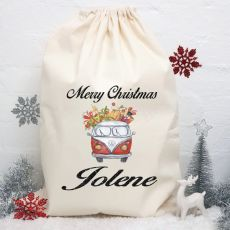 Personalised Christmas Santa Sack - Combi