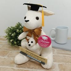 Signature Graduation Kangaroo with Badge