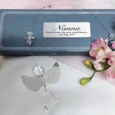 Personalised Nana Angel Suncatcher