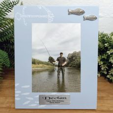 Personalised 50th Birthday Fishing Frame 6x4
