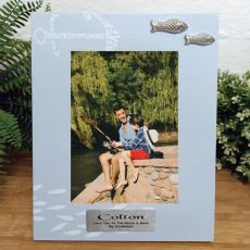 Personalised Godfather Fishing Frame 6x4