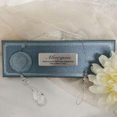Personalised Bridesmaid Love Suncatcher
