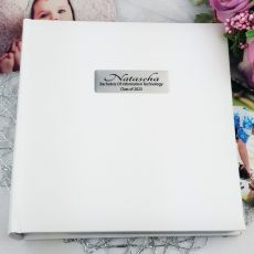 Personalised Graduation  Photo Album 200 - White