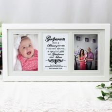 Godparent Gallery Photo Frame 4x6 Typography Print White