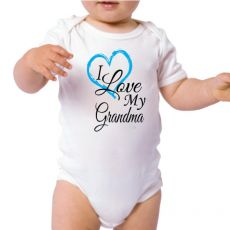 Personalised I Love My Grandma Bodysuit