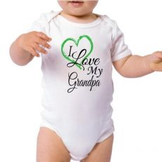 Personalised I Love My Grandpa Bodysuit
